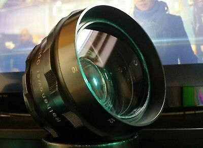 ANAMORPHIC LENS READY for filming