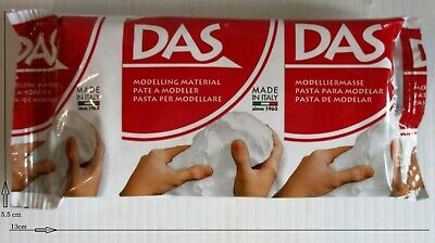 DAS 3 x 150g Packs Air Drying Modelling Sculpting Craft Clay, Making Hand Print