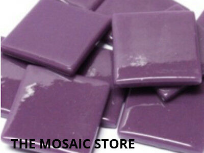 Deep Purple Gloss Glass Tiles 2.5cm - Mosaic Tiles Supplies Art Craft