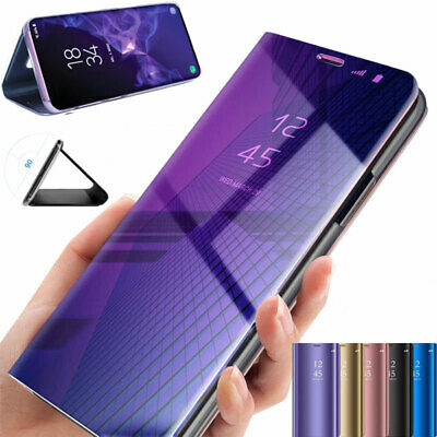 Samsung Galaxy S9 Plus Schutzhülle Clear View Case Flip Cover Handytasche Bumper