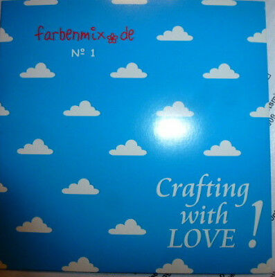 Crafting with LOVE Farbenmix Stickdatei Schnittmusterdatei CD