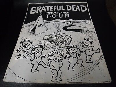 Grateful Dead Summer Tour 1987-Shakedown Street Coloring Books-From The Lot-420!