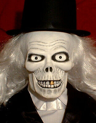 """HAUNTED Ventriloquist doll """"EYES FOLLOW YOU"""" dummy puppet Hatbox ghost skull"""
