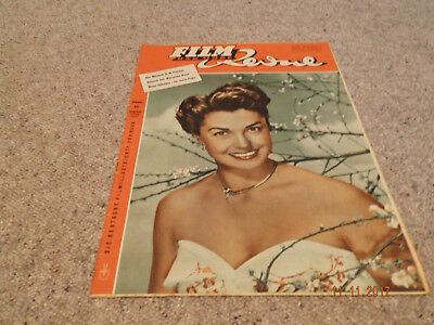 Film Revue Nr. 10, 1953,  Esther Williams on cover Paula Wessely backcover
