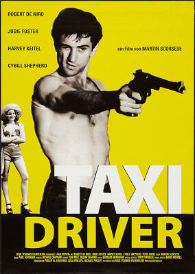 TAXI DRIVER - GERMAN MOVIE POSTER 24x36 - 52583
