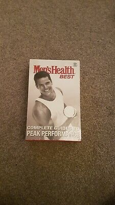 Mens Health best complete guide to peak performance. Brand new and sealed