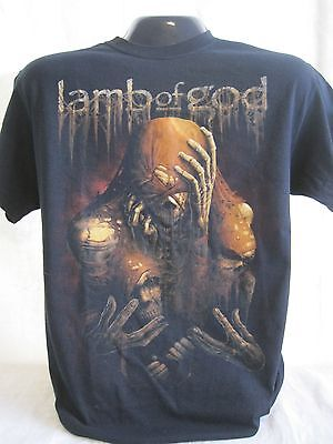 Lamb of God T-Shirt Tee LoG Groove Metal Rock Band Music Apparel New 03