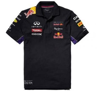 Red Bull Racing Teamline Polo Homme, Bleu/Rouge, XL