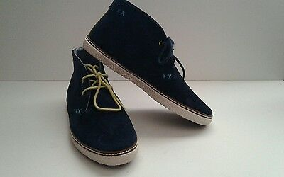 e2b9f55d66bebb Ted Baker Abdon 2 Dark Blue Suede Men s Casual New Shoes Size- 7 (K15