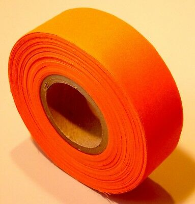 PVC Flagging Tape, 150-Foot Roll, Fluorescent Day-Glo Orange