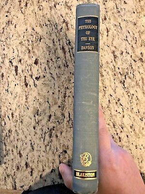 """1950 Vintage / Antique Medical Book """"The Physiology of the Eye"""""""