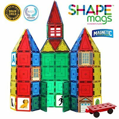 124 Piece Set Magnets 12X12 Stabilizer Plate and Car Base