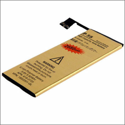2680mAh High-Capacity Gold Replacement Battery with Flex for Apple iPhone 5