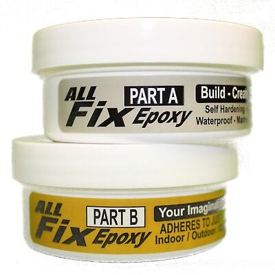 1/2 LB ALL-FIX EPOXY Putty - Color Changing ! Just Add Paint ! Jewelry Crafts