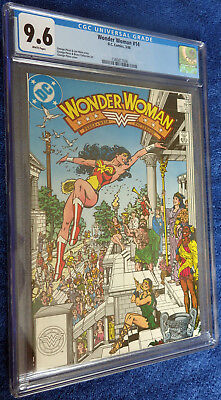 Wonder Woman #14 (1987) CGC 9.6 White pages - Beautiful George Perez cover!