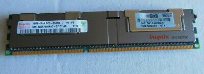 384GB (24pcs of 16 gb)  HP P/N 500207-071-16GB modules 4Rx4 PC3-8500R ECC RAM