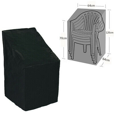 Waterproof Outdoor Stacking Chair Cover Garden Parkland Patio Chairs Furniture