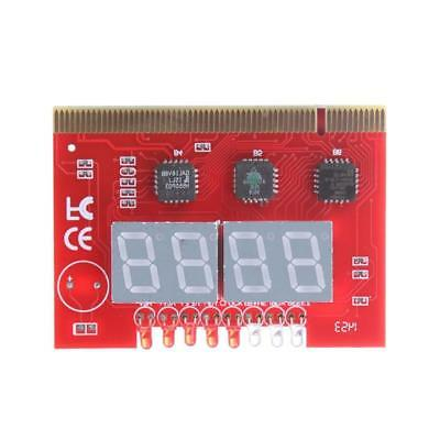 Mini LED 4 Analysis Diagnostic Tester POST Card PCI PC Analyzer Motherboard