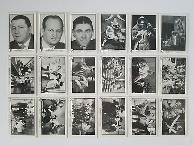 The Three 3 Stooges 1989 Ftcc Card Set Of 60