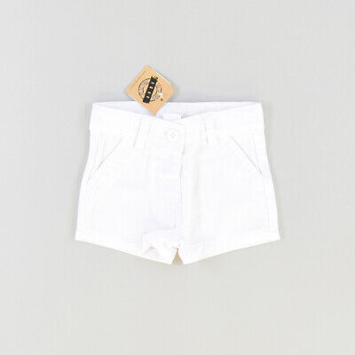 Shorts  color Blanco marca Newness 6 Meses  P002701