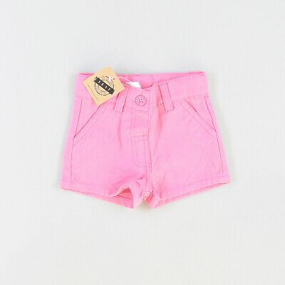 Shorts  color Rosa marca Newness 6 Meses  P002704