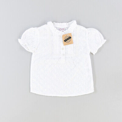 Blusa color Blanco marca Newness 12 Meses  P002659