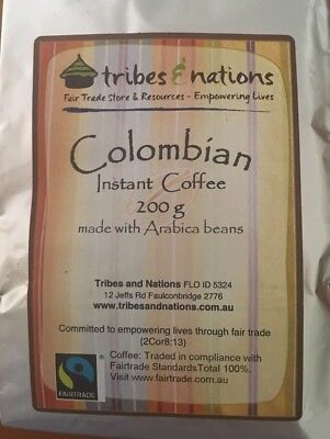 Fairtrade Columbian Instant Coffee 200g