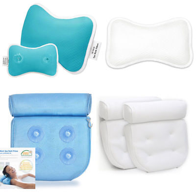 Relaxation Bath Pillow Non-Slip Bathtub Pillow with Suction Cups