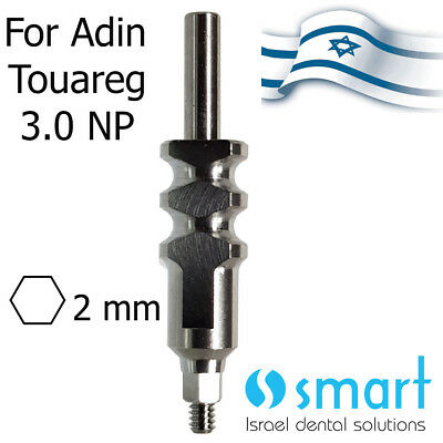 Dental Implant Adin Touareg CloseFit NP 3.0 open transfer 2.0 mm conical narrow