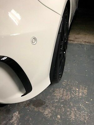 Mercedes Benz Arch/Stone/Mud Guards Black ABS A45 AMG A Class *NO LOGO REAR*