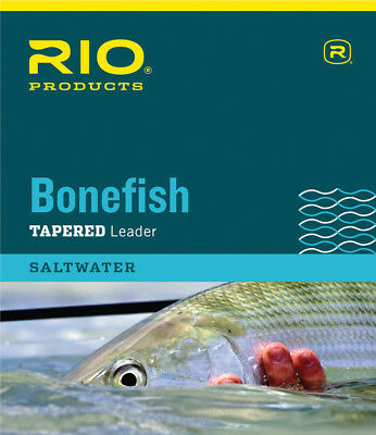 RIO Bonefish Tapered leader (10') Triple Pack