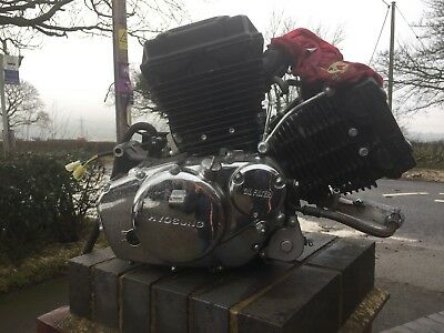 Hyosung Gv125 Aquila 2014 Complete Running Engine 3926 Miles. See Video Below.