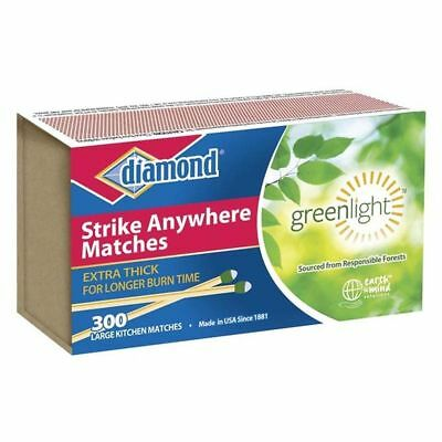 12 Packs (300 Count) Diamond Strike Anywhere Matches Factory Sealed Fresh