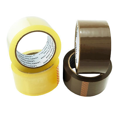 36-576 Rollen Klebeband LEISE 50mm x 66m LOW NOISE PP Packband Paketband LEISE