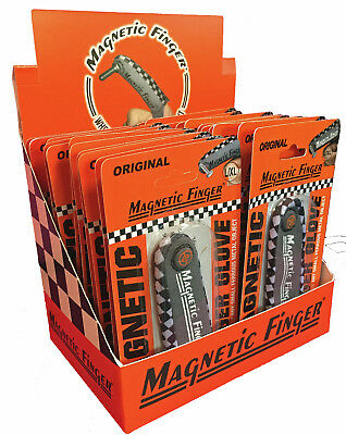 Magnetic Finger Assist Tool - Wholesale 24 Count - Counter Display Included