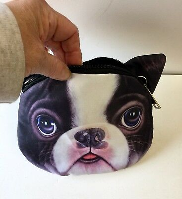 Boston Terrier Cross Body Handbag