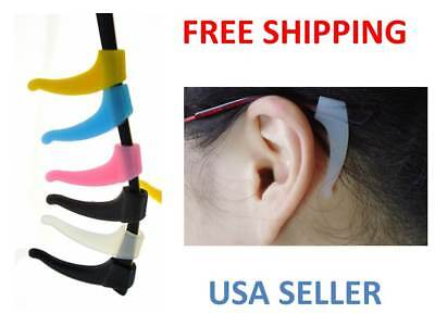 Comfortable Soft Silicone Anti Slip Ear Hooks for Glasses  Eyeglass sunglasses
