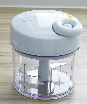 new the pampered chef manual food processor in original box and