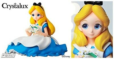 Banpresto Disney Characters Crystalux Alice in Wonderland Figure Alice