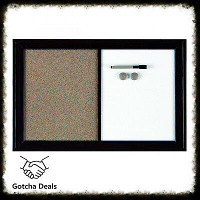 Dry Erase And Cork Combined Board Home Office Task Organizer 17 x 23 Inches New