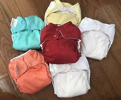 Lot Of 6 Cloth Diapers