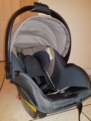 GB ASANA Infant Car Seat, Black - Seat ONLY, Base NOT included ...