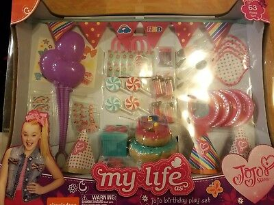 My Life JoJo Siwa Birthday Play Set My life Birthday Set 18in Doll American Girl