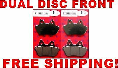 Lyndall Racing 2 Sets 7195-Z+ Front OR Rear Dual Brake Pads Z-Plus Harley 00-07