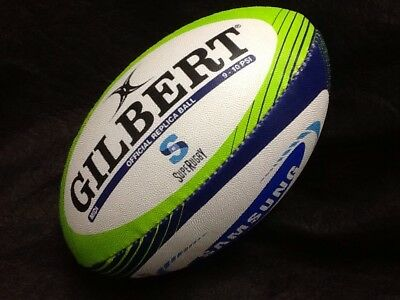 Gilbert Super Rugby Union Official Replica Midi Ball #2956