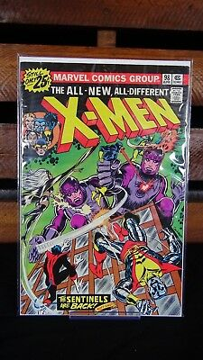 The X-Men #98 (Apr 1976, Marvel) All New All Different Sentinels Wolverine Storm