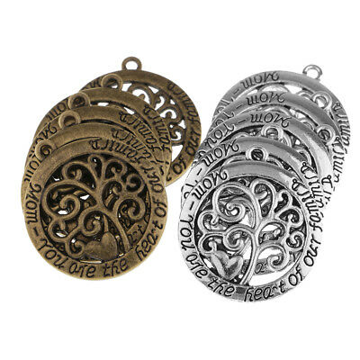 10x 28mm tree of life Charms for jewelry making,craft,cards,vintage,pendants