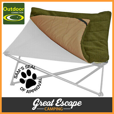 Outdoor Connection Large Fleecy Dog Mat - Use with Dog Bed