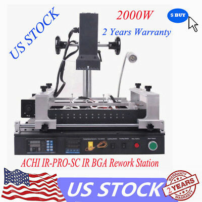 2000W ACHI IR-PRO-SC INFRARED AIR BGA REWORK STATION SOLDER For Xbox360,PS3 USA