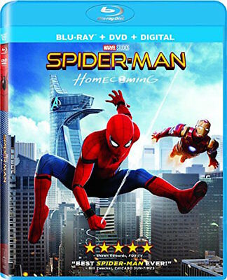 Spider-Man Homecoming - [Blu-Ray/Dvd Combo Pack] - New Unopened - Tom Holland